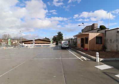 Household waste recycling center, Brive-la-Gaillarde (19)